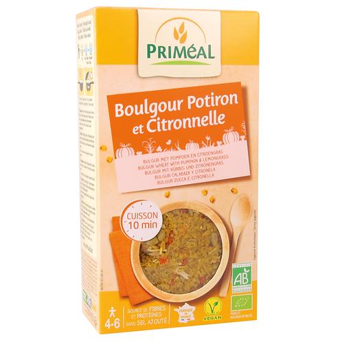 Boulgour potimarron et citronnelle - 300g