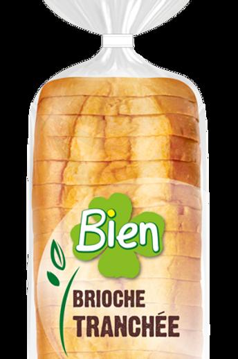 Brioche tranchée - 400g - Sans lactose