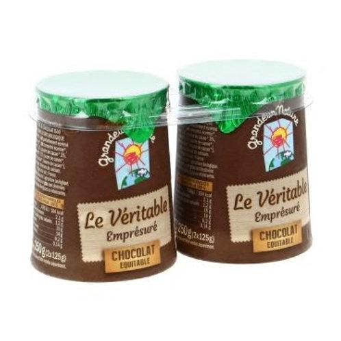 Empresure chocolat - 2x125g