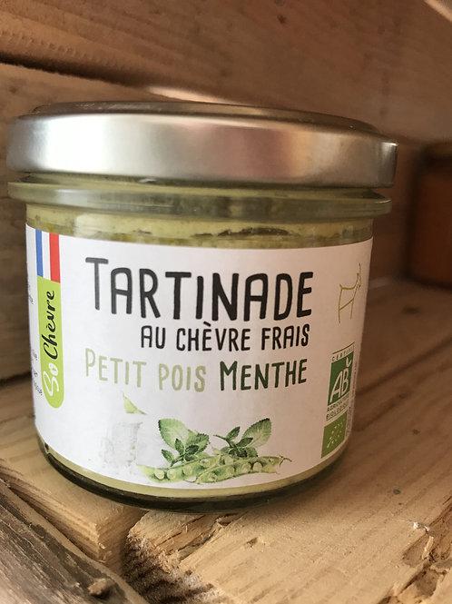 Tartinade au chèvre frais - Petit pois menthe - 90g