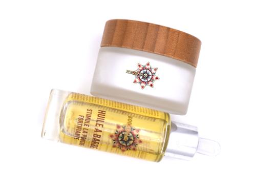 DUO Crème régénératrice Mixte 50ml & Huile à barbe 30ml