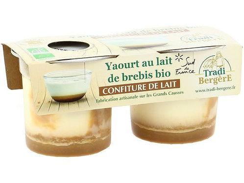 Yaourt de brebis confiture de lait - 2x125g