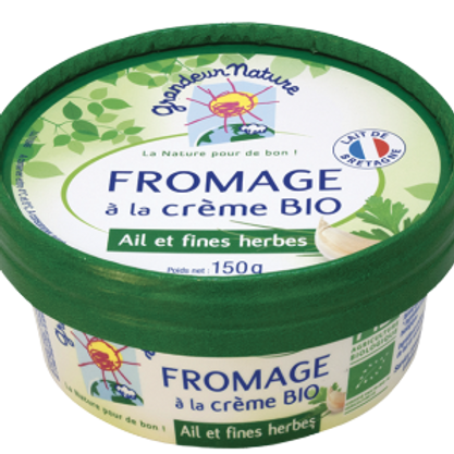 Fromage frais ail & fines herbes - 150g
