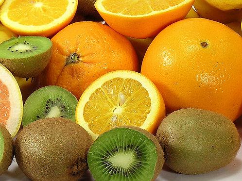 Panier de fruits - 100% fruits