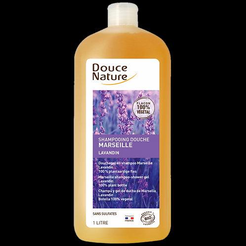 Shampoing douche - Marseille - Lavande - 1L