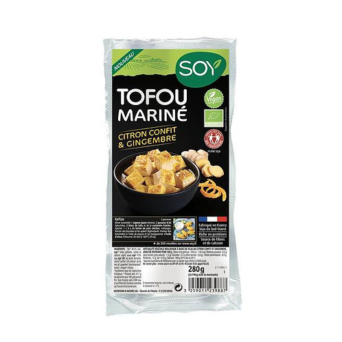 Tofu mariné citron gingembre - 2x140g