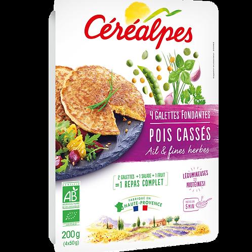 Galettes Pois Cassés Ail & Fines Herbes - 200g