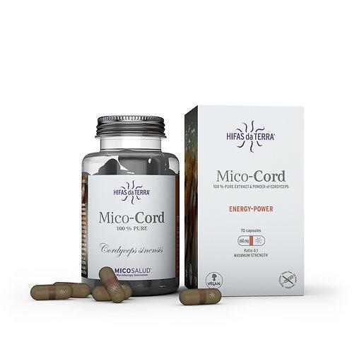 Mico-Cord – Extrait pur biologique de Cordyceps