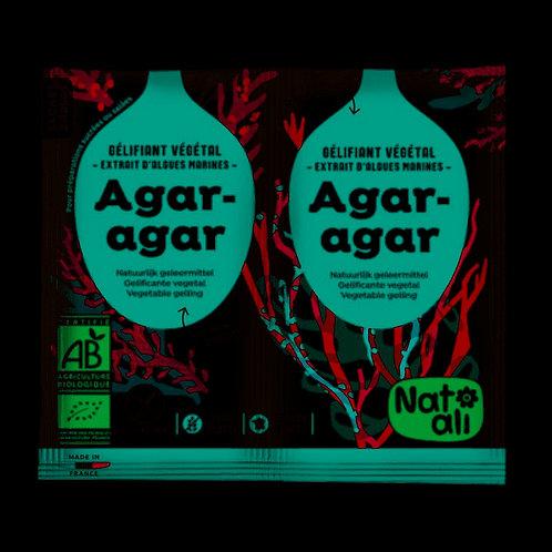 Agar-Agar - Gélifiant végétal - 2x4g