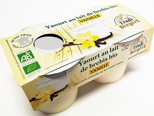 Yaourt de brebis à la vanille - 2x125g