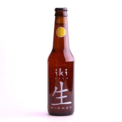 IKI Bière blonde thé vert gingembre - 33cl