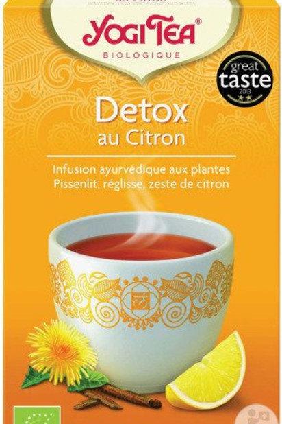 Tisane Détox citron - 17 sachets