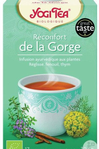 Tisane Réconfort de la gorge - 17 sachets