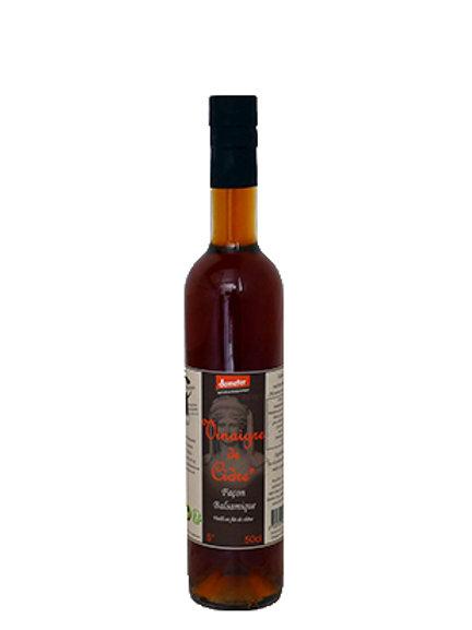 Vinaigre de cidre façon balsamique - 50cl