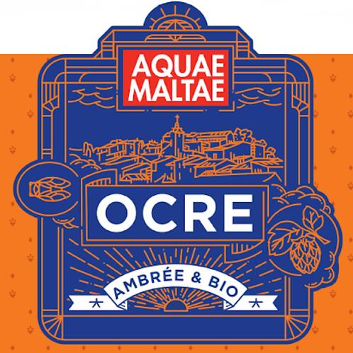 """Bière Ambrée """"Ocre"""" - 33cl - Aix"""