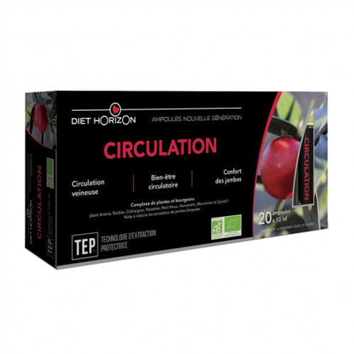 Ampoules ''circulation'' - x20