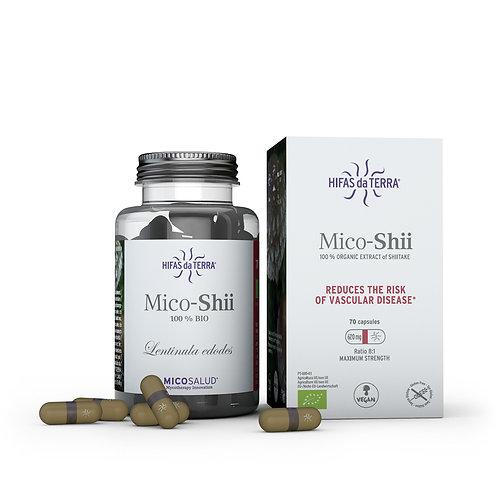 Mico-Shii – Extrait pur biologique de Shiitake (Lentinula edodes)