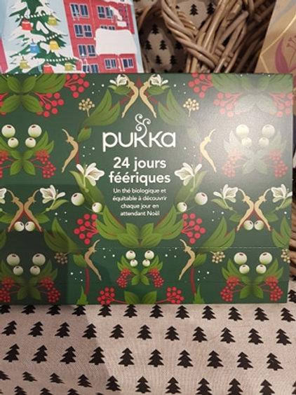 Calendrier de l'Avent Pukka Thé- 24 sachets