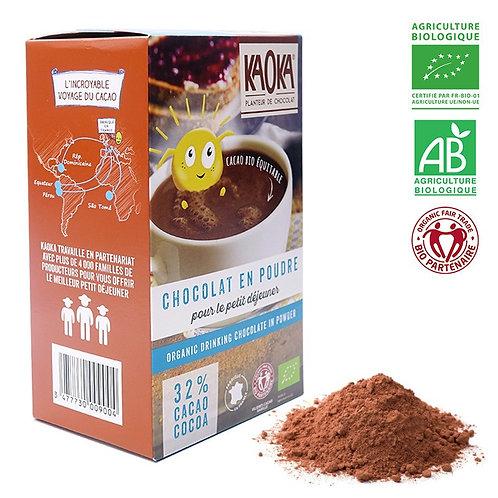 Chocolat en poudre - 32% - 400g (sucré)