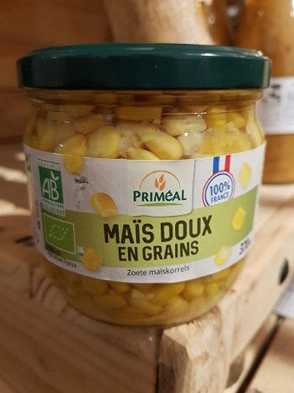 Maïs doux - 370ml