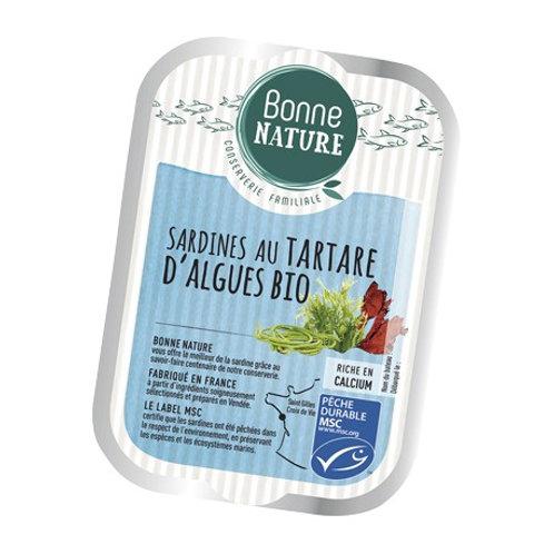 Sardine au tartare d'algues - 115g