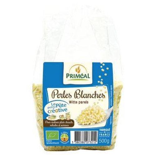 Perles blanches - 500g