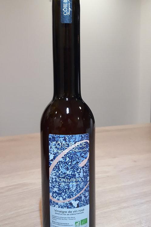 """Vinaigre de vin rosé """"l'insulaire"""" - 250ml"""