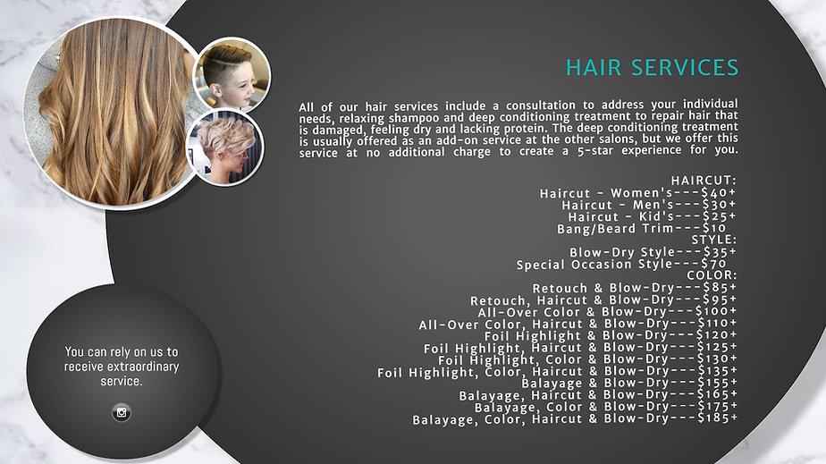 Copy of Beauty Salon Price List Template