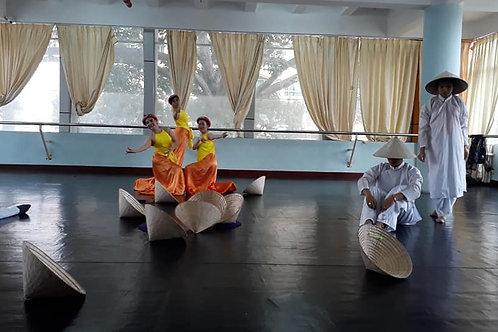 Kĩ năng thực hành và sáng tác múa nâng cao