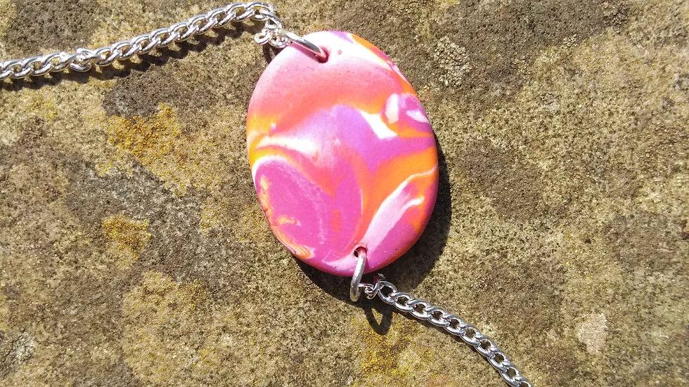 Tangerine bracelet