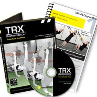Обучающие материалы;TRX TRAIN LIKE THE PROS DVD & GUIDE