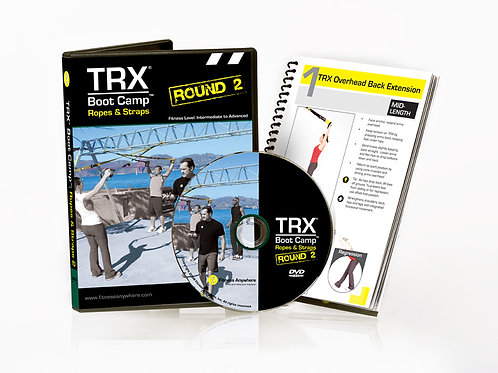 Обучающие материалы;TRX ROPES AND STRAPS ROUND 2 DVD & GUIDE