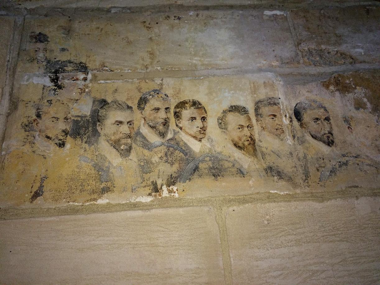 fresque confrérie des tanneurs