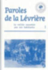 Paroles de la Lévrière