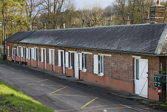 Rouv Logements ouvriers usine de Rouvill