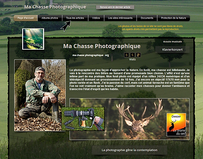 Ma Chasse Photographique . Org