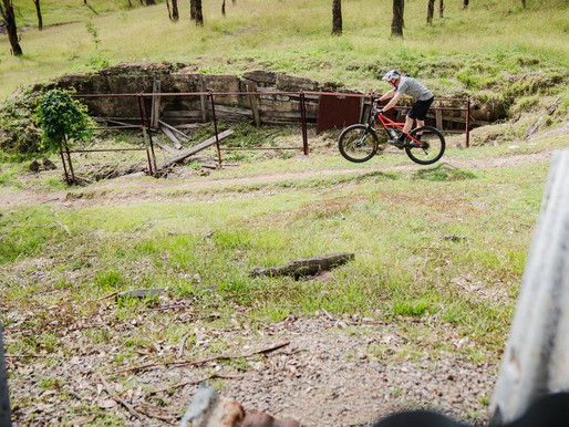 Dungog's new world-class mountain biking trail at the Common