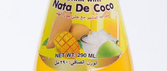 Mango Drink with Nata de Coco