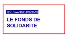 Fonds de solidarité janvier 2021 pouvant concerner toutes les entreprises sous conditions