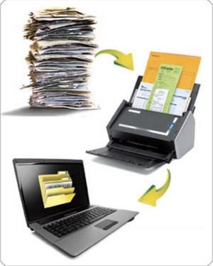 Scanner toutes les pièces justificatives (factures, notes de frais, contrats, etc) ne nous affranchi