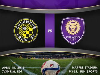 Orlando City Cae de Visitante Contra Columbus Crew SC