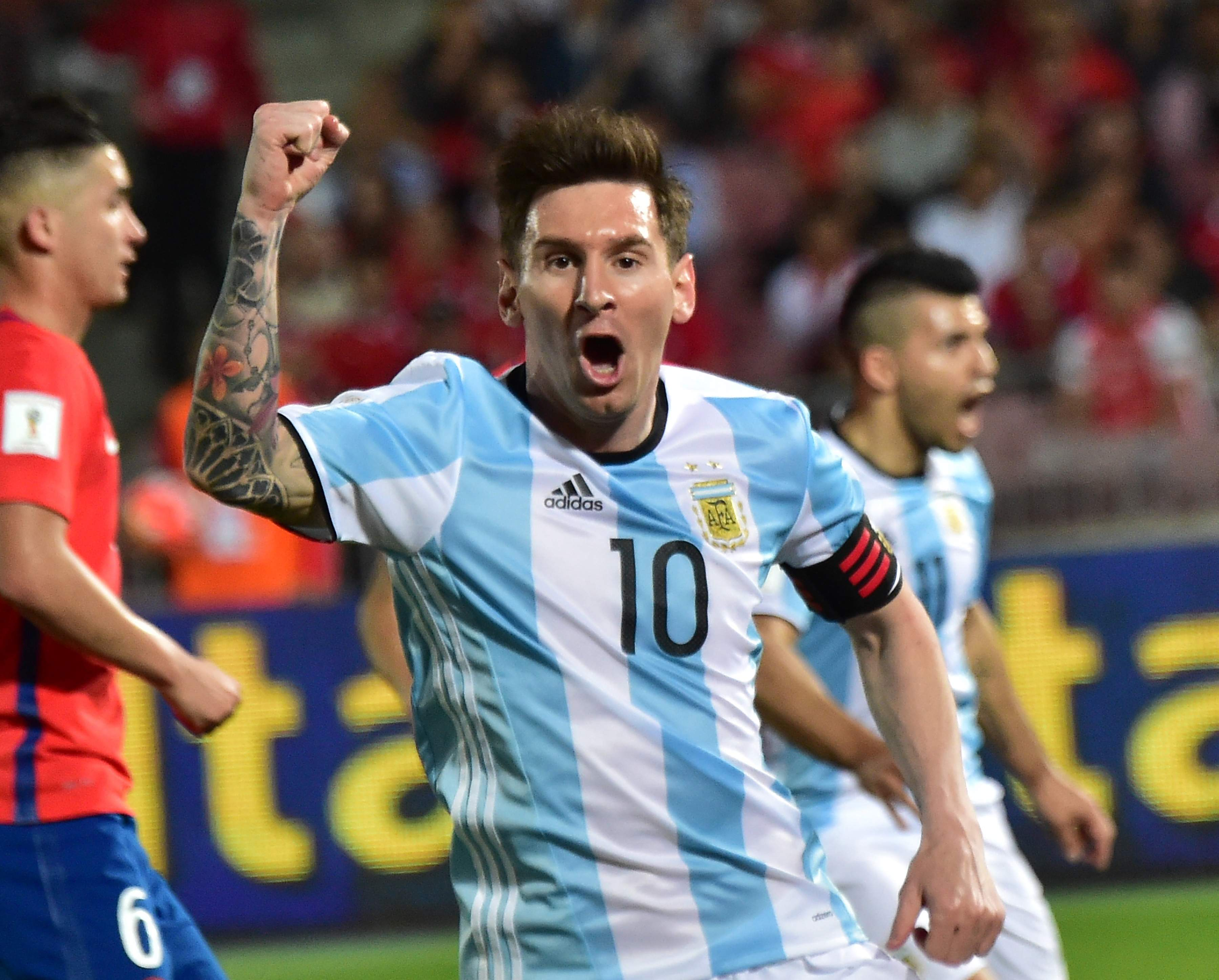 Argentina 3 Vs Bolivia 0