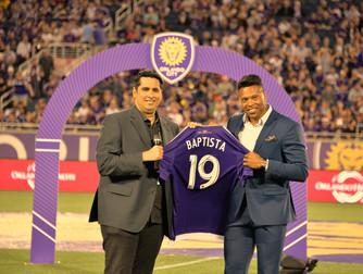 """Los Leones Saludan a la """"Bestia"""" Orlando City da la Bienvenida a Julio Baptista"""