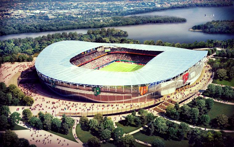 Stadium in Kazan
