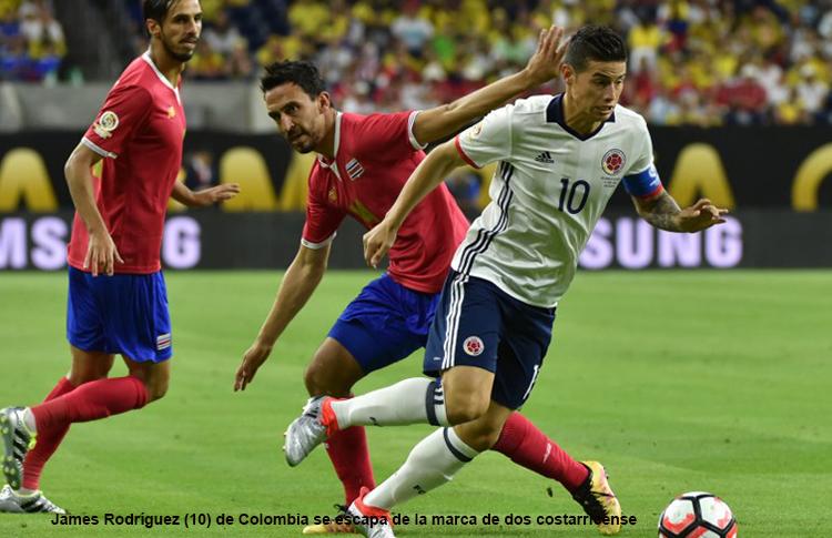 COLOMBIA 2 Vs COSTA RICA 3