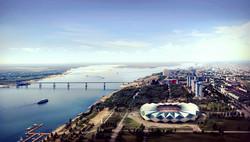 Stadium in Volgograd