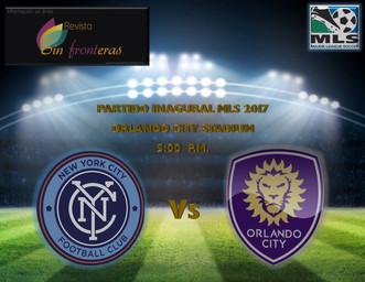 Orlando City Estrena Nuevo Estadio Con La Apertura De Su Tercera Temporada En La MLS Frente al New