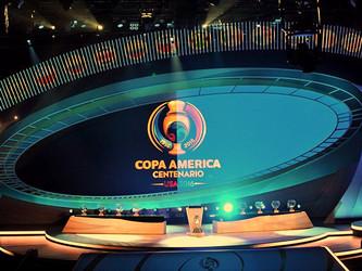 ¡Así Quedaron !                                     Sorteo de Grupos de la Copa América Centenario 2