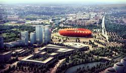 Stadium in Saransk