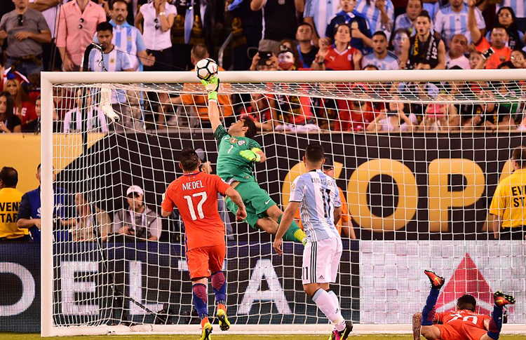 Argentina 2 Vs Chile 4 Penales